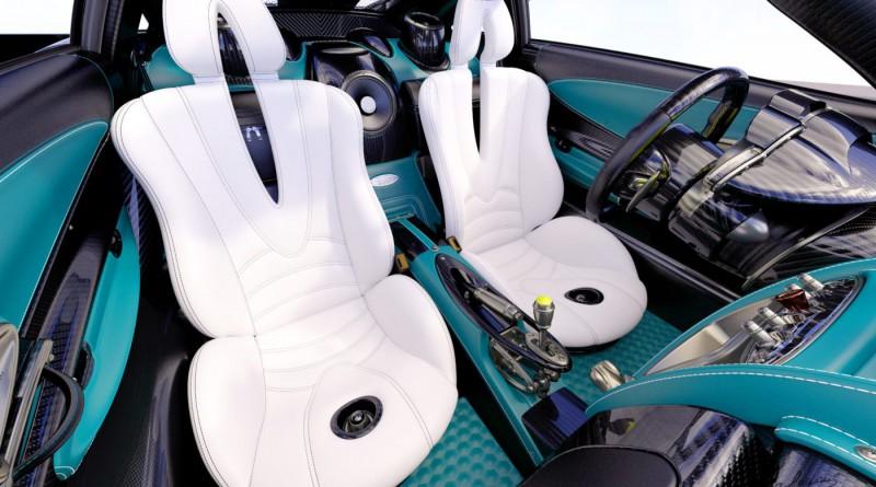 Pagani Huayra Seats