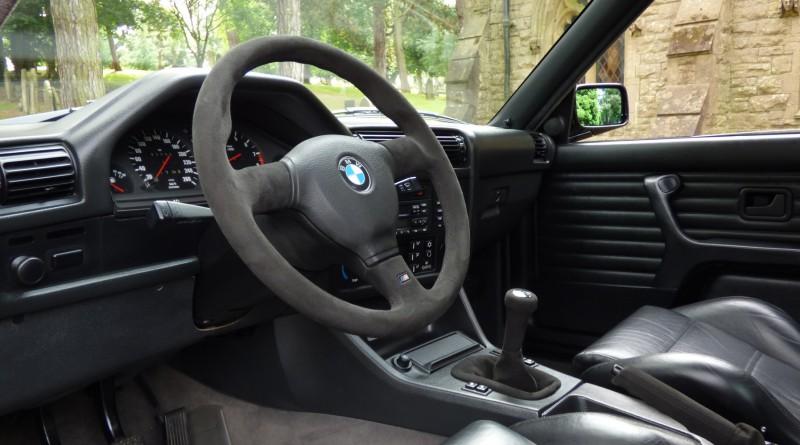 E30 M3 Evo Sport Interior
