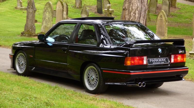 Jet Black BMW E30 M3