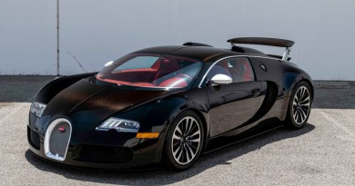 Rare Bugatti Veyron Sang Noir For Sale
