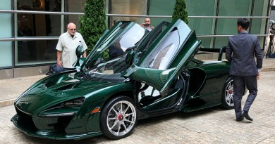 First McLaren Senna Delivered To Michael Fux