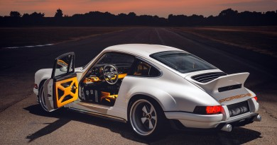 Singer DLS Reveals Porsche 964 Project at Goodwood