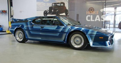 Rare BMW M1 AHG Studie For Sale In Germany