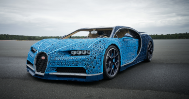 LEGO Builds A Full-size Drivable Bugatti Chiron