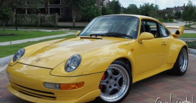 Very Rare Speed Yellow Porsche 993 GT2 For Sale
