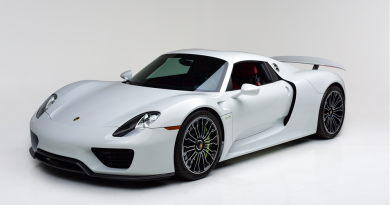 Rare Porsche 918 Spyder Headed To Las Vegas Auction