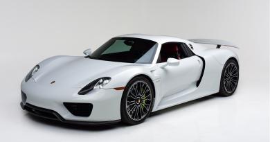 Rare Porsche 918 Spyder Headed To Las Vegas Auction