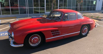 Fire Engine Red Mercedes-Benz 300SL Gullwing For Sale