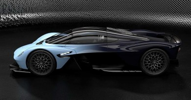 Aston Martin Reveals Valkyrie Hypercar Photos