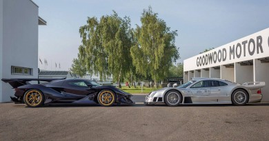 Dubai Autodrome: Apollo IE vs Mercedes-Benz CLK GTR