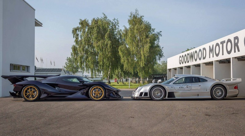 Apollo IE and Mercedes-Benz CLK GTR