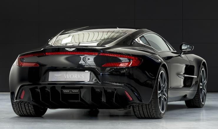 Obsidian Black Aston Martin One-77