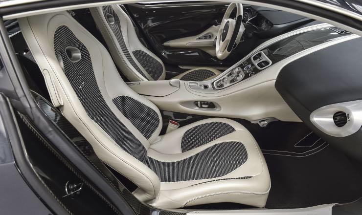 Aston Martin One-77 Seats