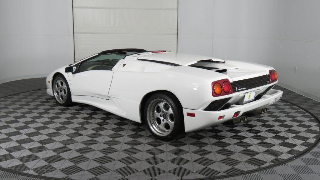 Low Mileage Lamborghini Diablo Vt Roadster For Sale Supercar Report
