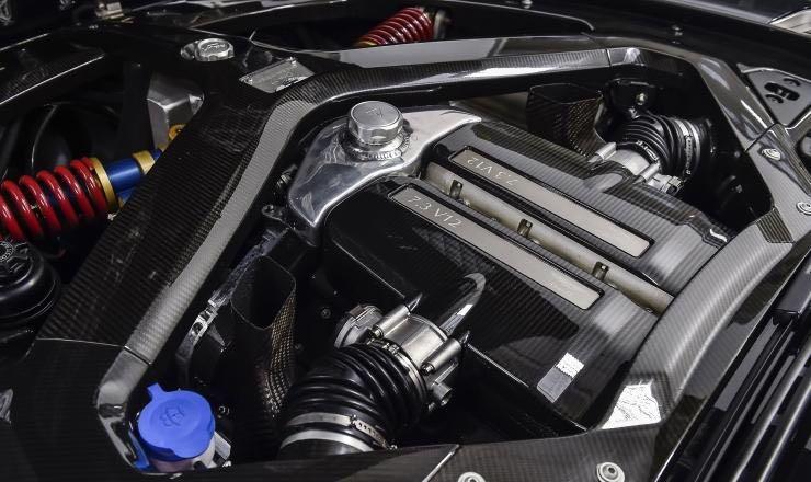 2011 Aston Martin One-77 Engine