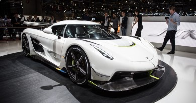 Koenigsegg Jesko Revealed at Geneva Motor Show