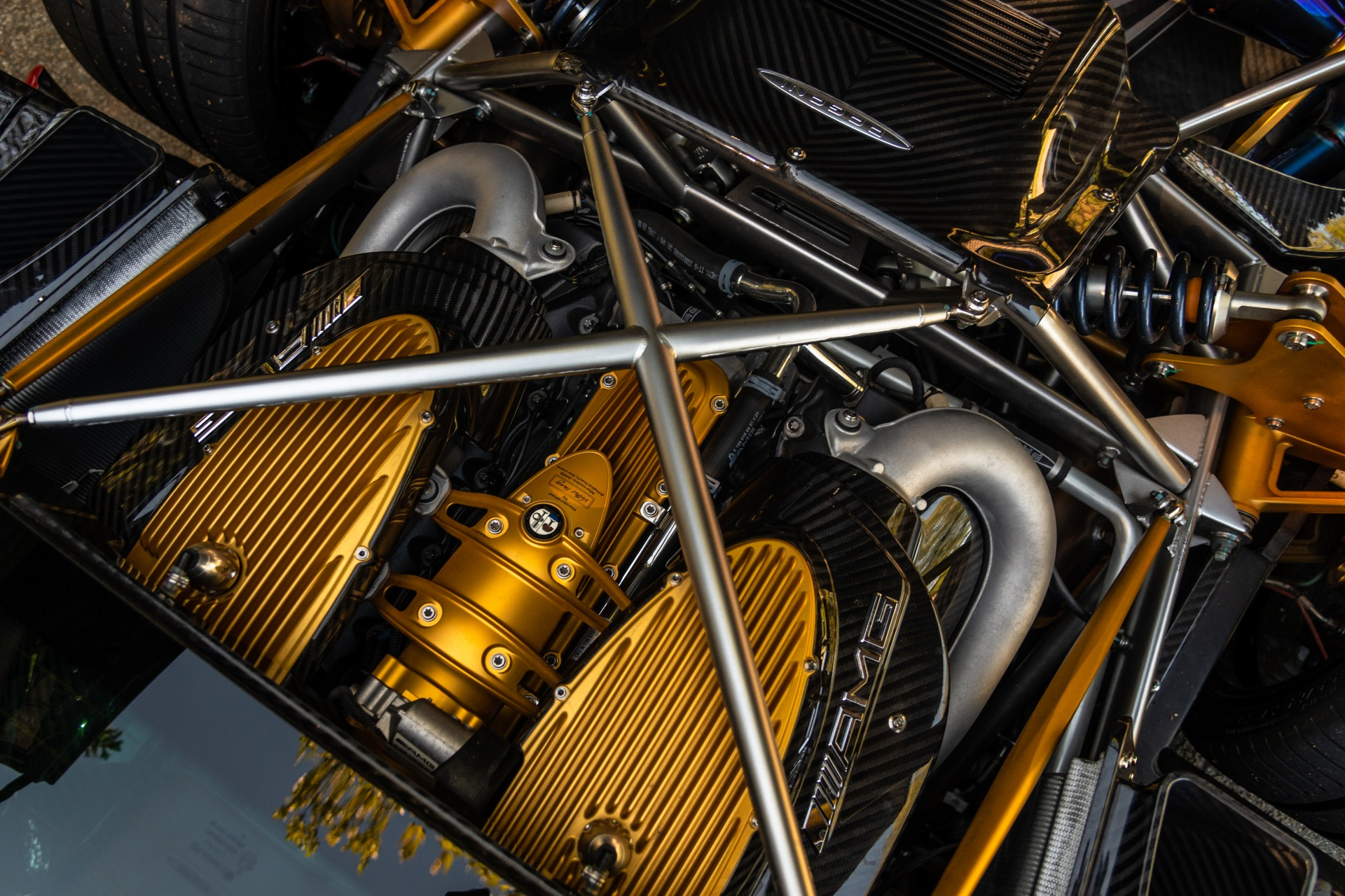 Pagani Huayra Tempesta Engine