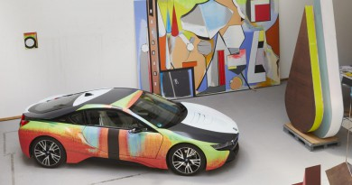 BMW i8 Art Car by Thomas Scheibitz