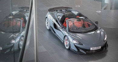 McLaren Celebrates 20,000th Car Produced