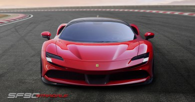 Ferrari SF90 Stradale Hybrid Supercar Revealed