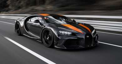 Bugatti Chiron Reaches 304 MPH Top Speed