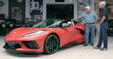 Jay Leno Drives New Corvette Z51 Convertible