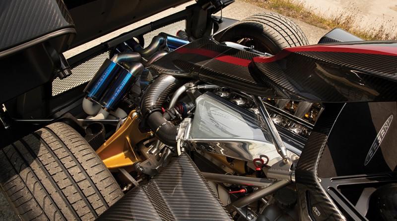 2017 Pagani Zonda Aether Engine