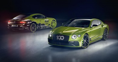 Bentley Reveals Continental GT Pikes Peak Edition