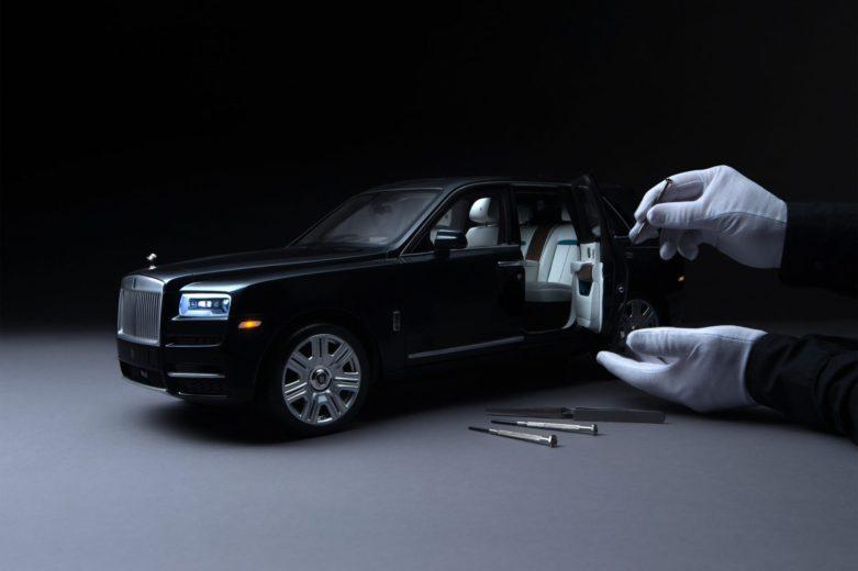1:8 Scale Model of the Rolls-Royce Cullinan